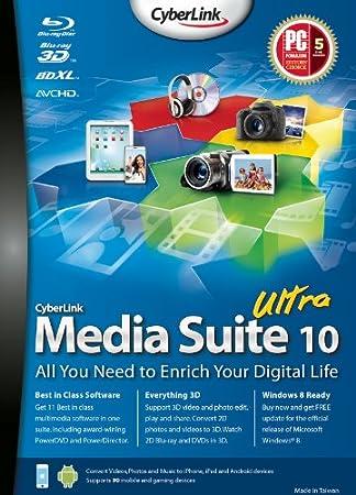 CyberLink Media Suite 10 Ultra [Download]