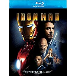Iron Man [Blu-ray]