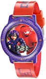 Disney Kids' BHS3381 Big Hero 6 Quartz Red Watch