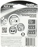 Energizer Universal NiMH AA Rechargeable Batteries, 4-count (1400 mAh, 1500 Cycles, Pre-Charged) Style: AA UNH15BP Size: 4 Count Portable Consumer Electronics Home Gadget