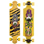 "SANTA CRUZ LONGBOARD Flying Eye DROP DOWN Skateboard CRUZER 10"" X 40"""