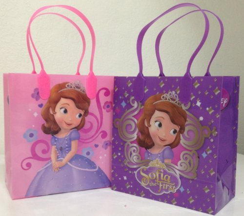 Sofia Disney Princess Party Favor Goodie Small Gift Bags 12 Pack by n/a