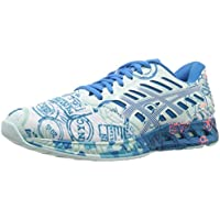 Asics Blue Synthetic Leather FuzeX NYC Women's Running Shoe