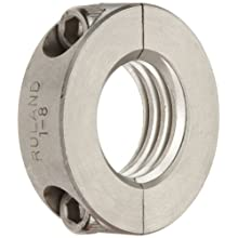 Ruland FSR Set Screw Beam Coupling, Stainless Steel, Inch