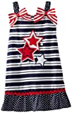 Youngland Girls 2-6X Americana Stripe Sundress