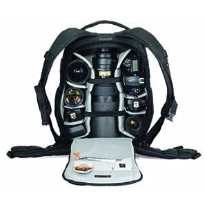 LOWEPRO カメラリュック フリップサイド 25L レインカバー 三脚取付可 ブラック 364129