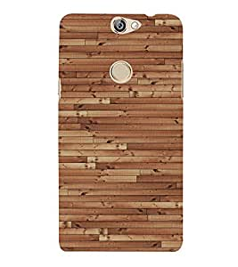 Dark Barn Wood 3D Hard Polycarbonate Designer Back Case Cover for Coolpad Max A-8
