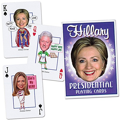 Hillary Presidential Playing Cards front-442717
