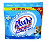 New! Dizolve Fresh Linen Non-bio washing sheet x20 Laundry Detergent, not powder a sheet! less packaging for a greener world!
