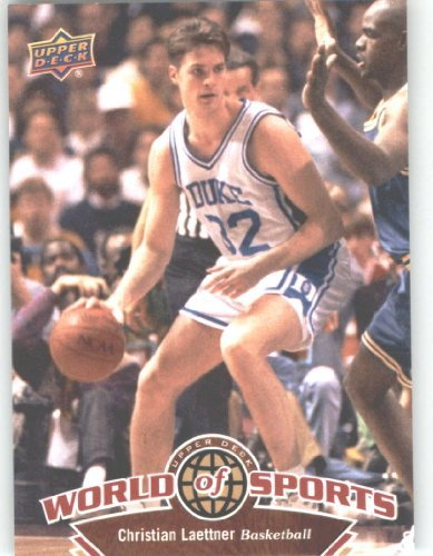 2010 Upper Deck World of Sports Trading Card # 8 Christian Laettner / Basketball Cards / Blue Devils / In a screw down case! amina mabrouk chemostratigraphy of upper cretaceous chalk tunisia