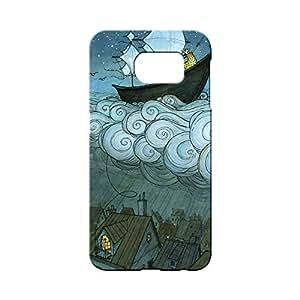 BLUEDIO Designer 3D Printed Back case cover for Samsung Galaxy S7 Edge - G3596