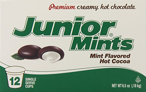 Junior Mint Hot Cocoa for Keurig K-Cup Brewers, 12 Count (Pack of 6)