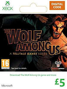 Xbox Live £5 Gift Card: The Wolf Among Us [Xbox Live Online Code]