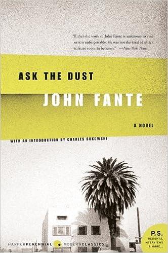 Bildergebnis für ask the dust fante