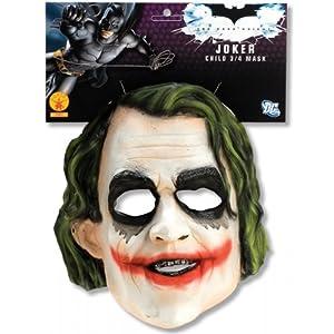 Morris Costumes Child Joker 3/4 Vinyl Mask