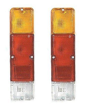 86 - 95 Suzuki Samurai Taillight Taillamp Pair Set Driver and Passenger (Suzuki Samurai Body Plugs compare prices)