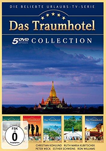 Das Traumhotel - Sammelbox 4 (5 DVDs: Das Traumhotel - Tobago, Brasilien, Vietnam, Myanmar & Marokko)