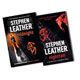 Stephen Leather Jack Nightingale Supernatural Thriller 2 Books Collection Pack Set RRP: �15.36 (Nightfall, Midnight)by Stephen Leather