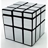 NEW Shengshou Mirror Surface Rubik's Puzzle Magic Cube Puzzle In Silver