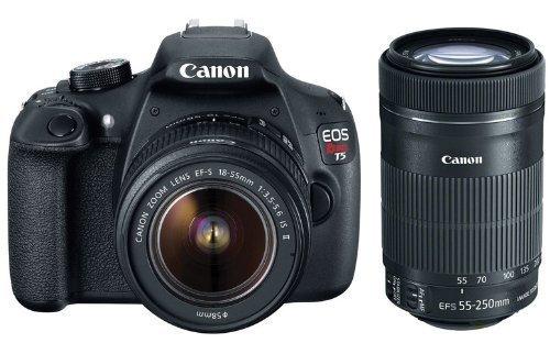 Canon EOS Rebel T5 EF-S 18-55mm IS II Digital SLR Kit with 55-250mm STM Lens
