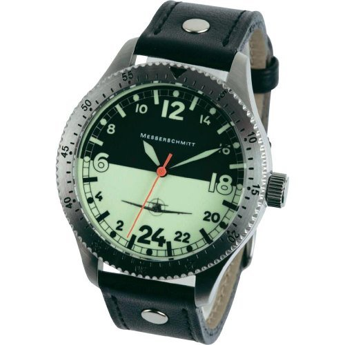 Messerschmitt 24 hour Watch with a Glow in the Dark Dial ME108DR-24
