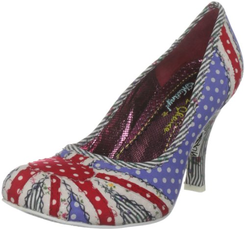 Irregular Choice Women's Patty Blue Spot Mary Janes 3614-14E 5 UK, 38 EU