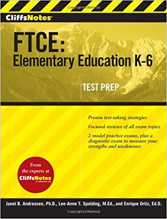 CliffsNotes FTCE: Elementary Education K-6