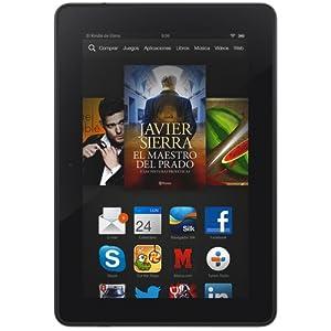 """Kindle Fire HDX 7"""" (17 cm), pantalla HDX, wifi, 16 GB - incluye ofertas especiales (generación anterior - 3ª)"""