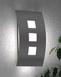 cmd aussenleuchte aqua toma anthrazit 71 mit bewegungsmelder k che haushalt. Black Bedroom Furniture Sets. Home Design Ideas