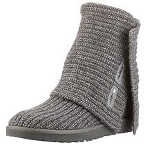 Hot Sale UGG Australia Women's Classic Cardy Boots Footwear Grey Size 9