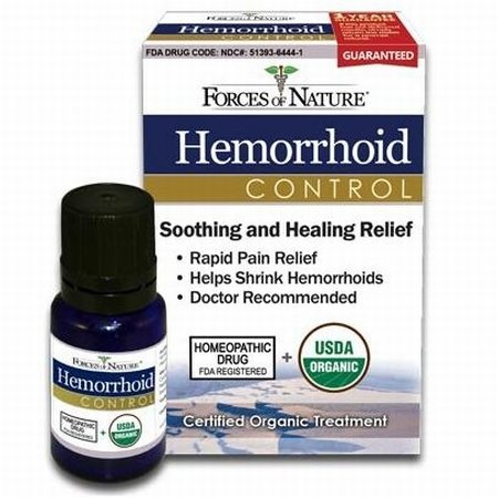 Forces of Nature Homeopathic Hemorrhoid Control 11 ml