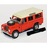 Cararama 1:43 CRLAND3RED Land Rover Series 3 109 Red Safari / Station Wagon