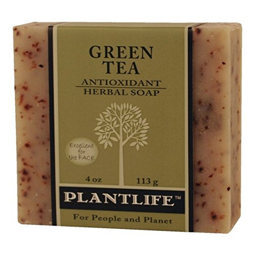 Green Tea 100% Pure & Natural Aromatherapy Herbal Soap- 4 Oz (113G)