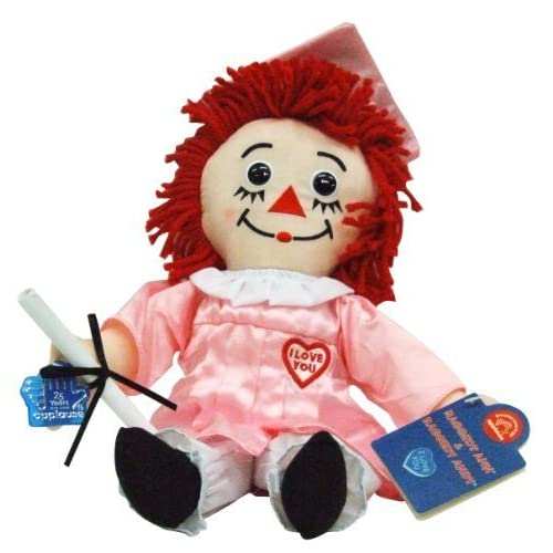 2004 Raggedy Ann Graduation Doll – Pink Gown (japan import) by Applause – Hasbro bestellen