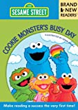 Cookie Monster's Busy Day: Brand New Readers (Sesame Street Books)