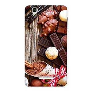 Sweet Chocolate Candies Back Case Cover for Yu Yureka