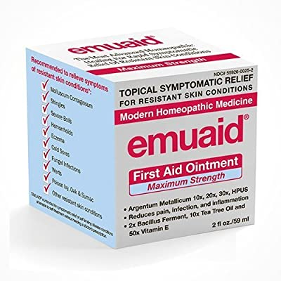 EmuaidMAX - First Aid Ointment for irritated skin, 2oz