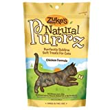 Zuke's Natural Purrz Purrfectly Sublime Soft Treats for Cats, Tender Chicken Recipe, 3-Ounce