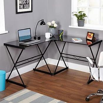 TMS Atrium L-shaped Computer Desk