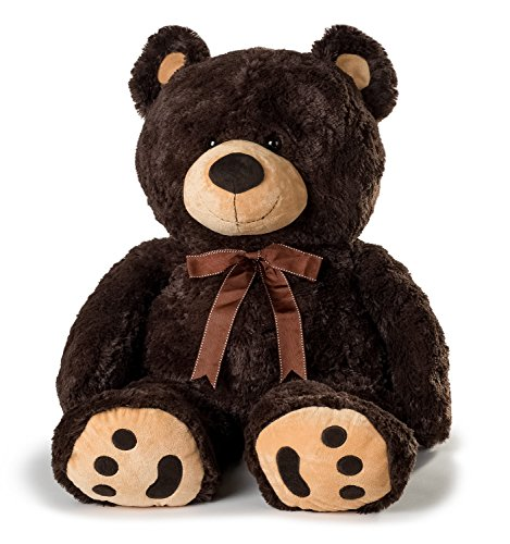 Huge Teddy Bear - Dark Brown (Giant Teddy Bear 3 Feet compare prices)