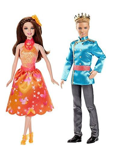 Barbie und die geheime Tür Freundin brünett, BLP29 + Prinz BLP31 (EAN9009588009383)