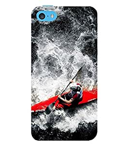 Vizagbeats Rowing Back Case Cover for Apple iPhone 6 Plus