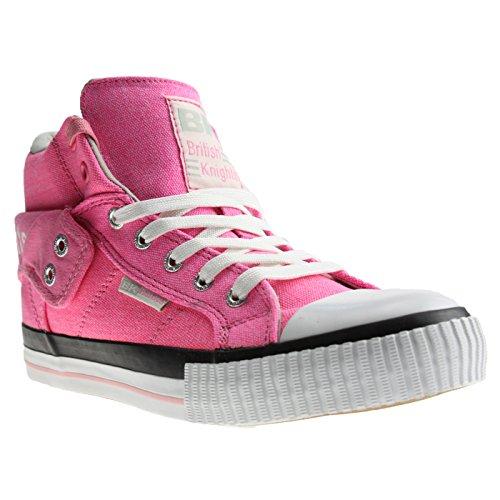 BK - ROCO B33-3731-02 pink / grey, Damen High-Top Sneaker pink / grau