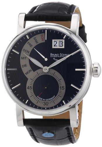 Bruno Söhnle Herren-Armbanduhr XL Pesaro I Analog Quarz Leder 17-13073-781