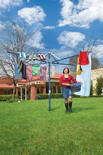 Hills Rotary 7 Washing Line - Ocean Breeze Blue - FREE DELIVERY