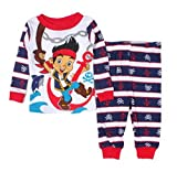 Jake and the Never Land Pirates Little Boys Long Sleeve Cotton Pajama Set