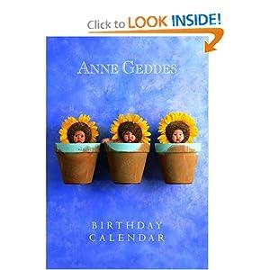 Anne Geddes Birthday Calendar Anne Geddes