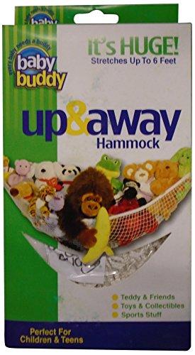 Baby Buddy(ベビーバディ) Baby Buddy ベビー バディ Up & Away Hammmock おもちゃ収納用ハンモック White ホワイト