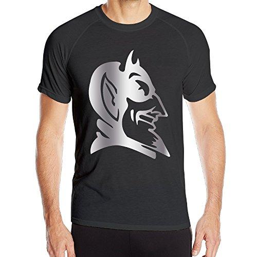 Men's Duke Blue Devils Platinum Logo Quick Drying T-Shirt Black (Duke Blue Devils Dry Fit Shirt compare prices)