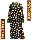 ナムコ [パックマン] 着衣型ブランケット NAMCO BANDAI [PAC-MAN] COZY THROW [並行輸入品]